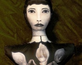 Memento Mori Stuffed Print Doll