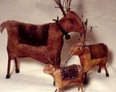 PDF  E Pattern INSTANT DOWNLOAD Primitive Reindeer Games