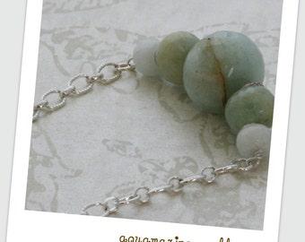 Aquamarine HILL TRIBE Silver Necklace