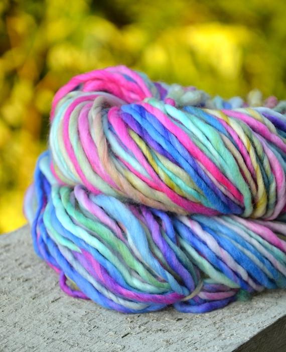 Funky Guru super bulky merino handspun yarn