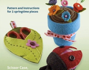 Springtime Sewing Set - PDF PATTERN