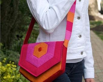 Hex Messenger Bag PDF Sewing Pattern
