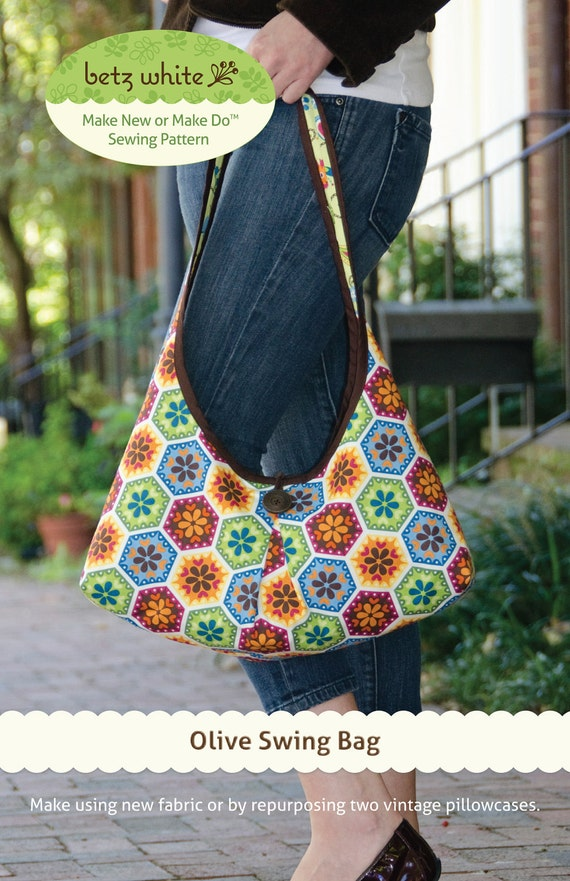 Olive Swing Bag PDF Pattern