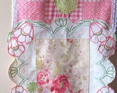 Table Runner, Home Decor, Embroidered, Vintage Lace, Flowers