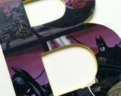 superhero alphabet letters A-Z