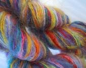 Tye Dye Hand Painted Dyed Brushed Mohair Yarn-SALE