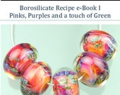 StoneyMarie Boro Borosilicate Glass Lampwork Bead Recipe e-Book Tutorial