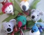 Christmas Down Under Festive Ornaments (crochet patterns)