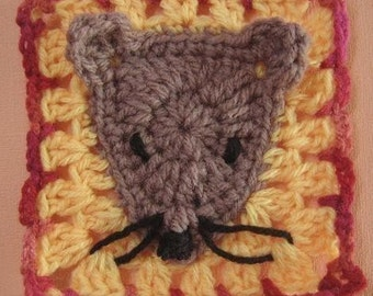 Year of the Rat rugalugs beanie and booties crochet pattern