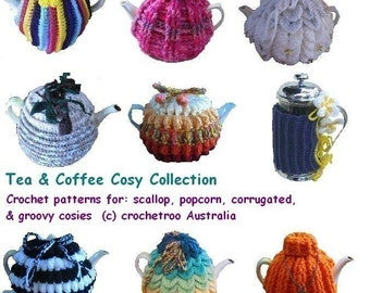 Tea Cosy Crochet Pattern Collection