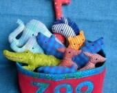 Little Softies - Zoo set - PDF pattern