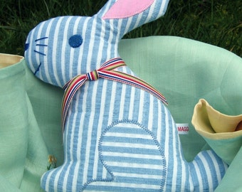 Plush Bunny sewing pattern - INSTANT DOWNLOAD