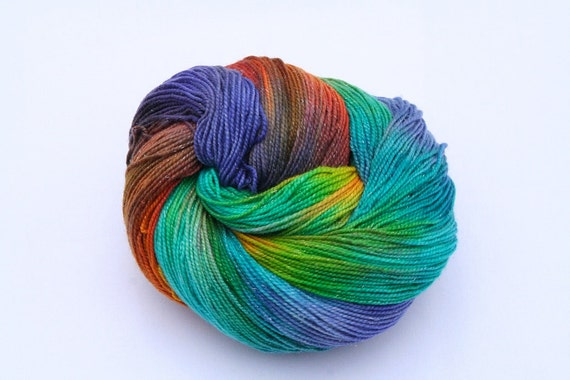 Yarn Pirate Hand Dyed Yarn-- Prismatic (version 2)