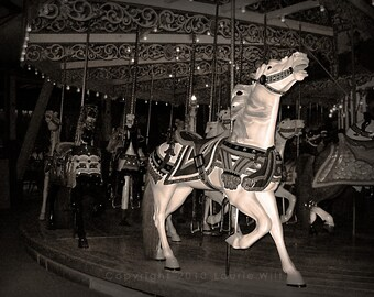 Grand Carousel 5x7 Fine Art Photograph