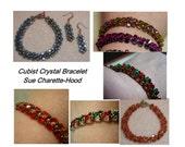 TUTORIAL Crystal CUBIST Bracelet