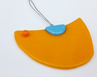 Ornament, Gift, Mustard Yellow Bird Ornament FREE SHIPPING (to USA)