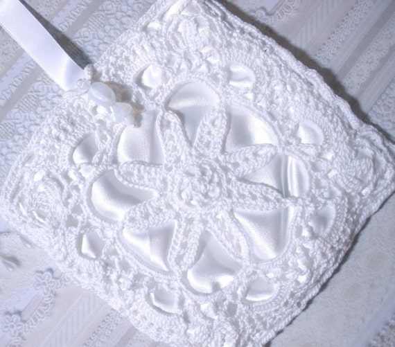 Lacy Irish Crochet Bridal Wristlet