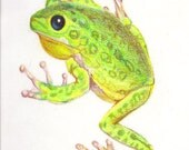 tree frog Garden sign, garden art, welcome sign, banner