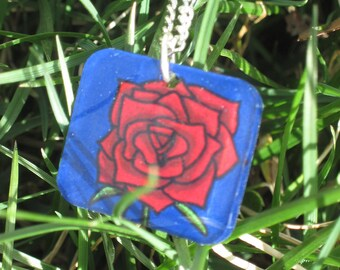 Portland Rose necklace