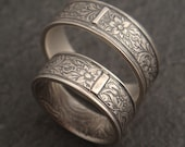 RESERVED Listing - Florentine Wedding Band in Sterling Silver