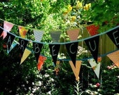 Chalk and Oilcloth Party Banners by Modern June
