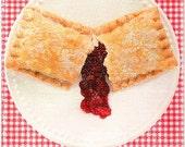 Cherry Pie (Distressed Canvas 6x8)