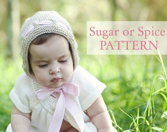PATTERN Sugar or Spice Bonnet
