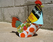reclaimed tin hen