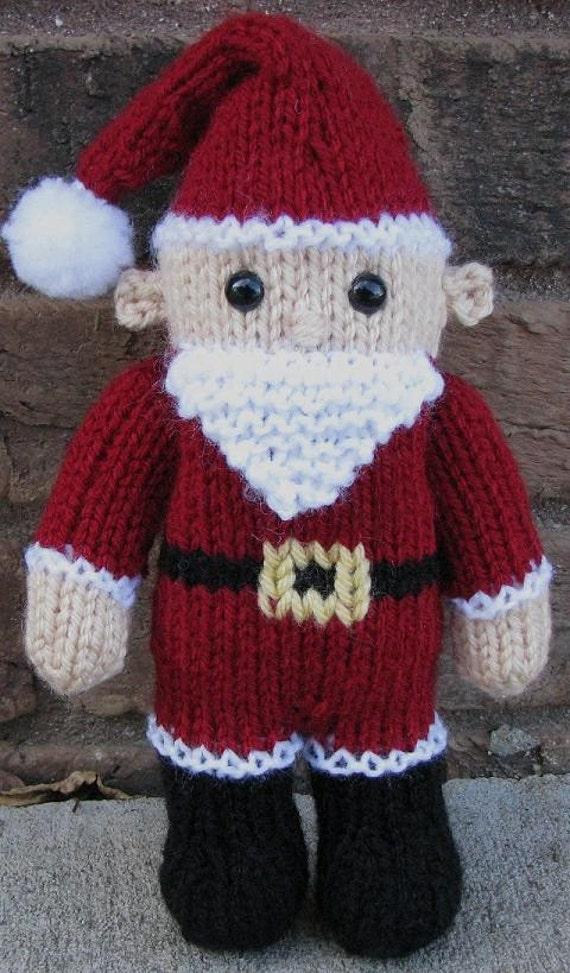 Santa Claus Pdf Knitting Pattern