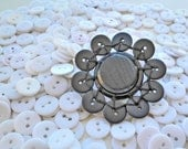 Black Button Brooch: The Black Beast