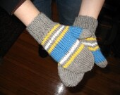Racing Stripes Mittens