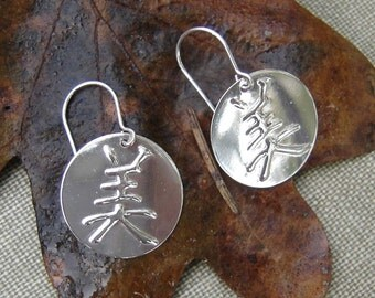 Beautiful - Chinese Character  and Japanese Kanji for Beautiful, Kanji Earrings, Kanji Jewelry, Women, Asian Language Jewelry
