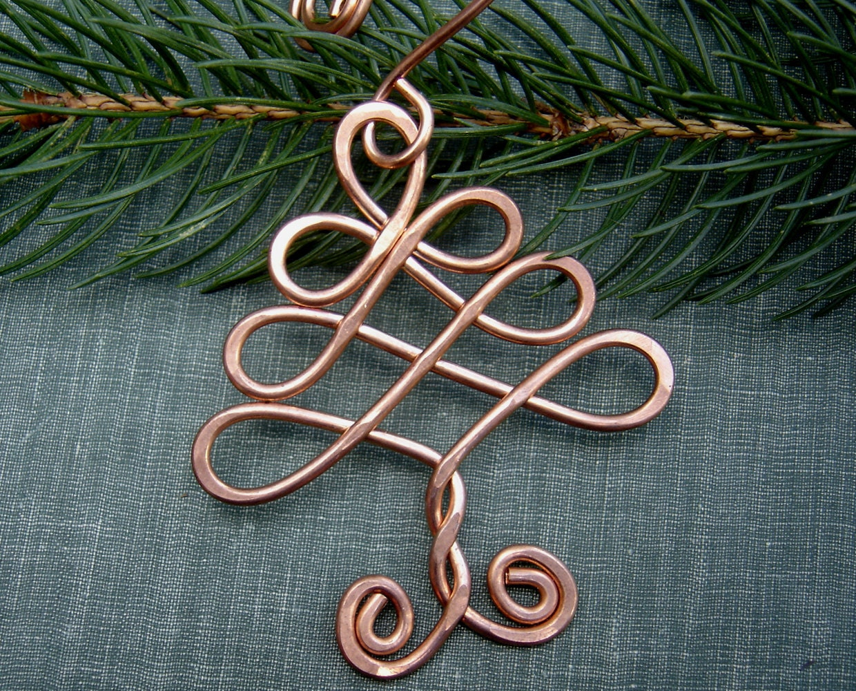 Celtic tree ornament christmas holiday