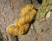 Harvest Gold Hand Spun Yarn