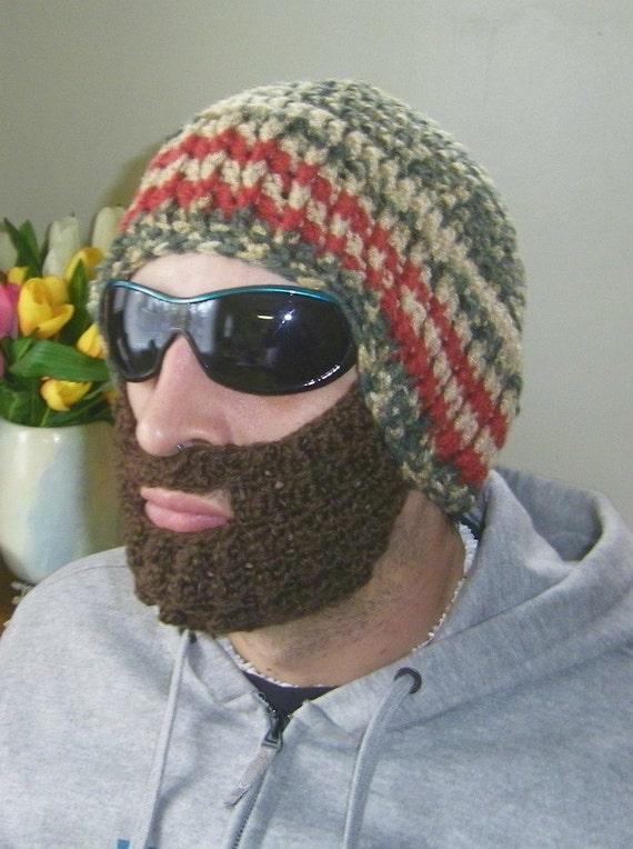 Beard Hat Beanie Men Outdoor Sportswear Winter By