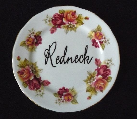 Redneck plate