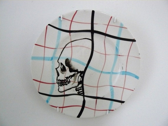 Skull profile plate
