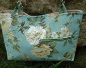 Spring Green Floral Purse