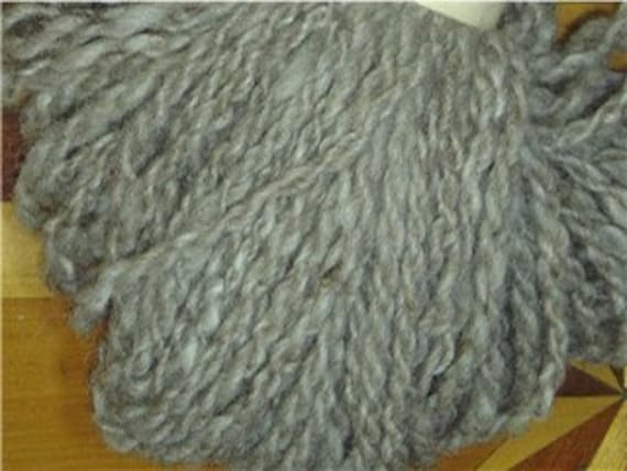 Alpaca and Wool - Handspun Yarn (F5-2)