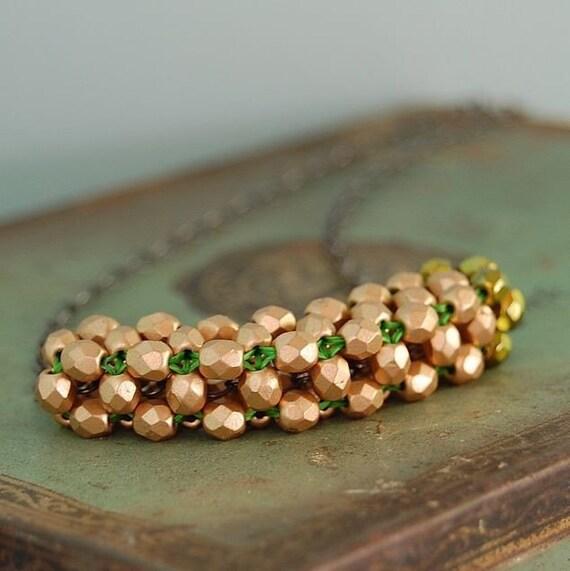 Copper Gold Tube