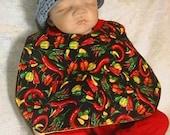 Chili Peppers Baby Bib
