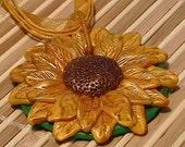 Summer Sunflower Pendant