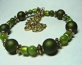 Garden Green bracelet