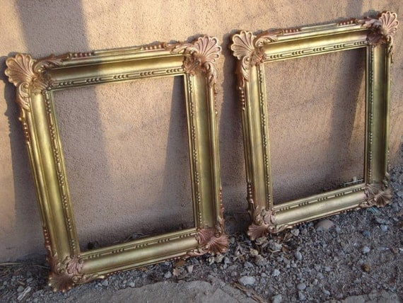 1970s Ornate Baroque Syrocco Frames