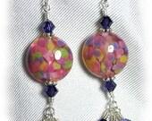 Confetti Lampwork Earrings - BHV