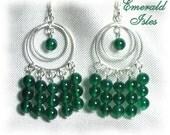 Emerald Isles Chandelier Earrings - BHV