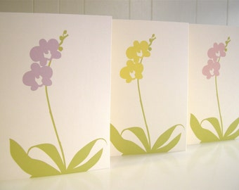 Orchid Card- Set of 3