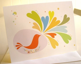 Birdie Shares Love Cards - Set of 3