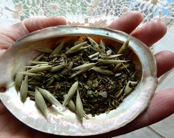 2 oz of Organic MISTY MOUNTAIN TOP Transformation Inspiring  - Herbal Blend Tea