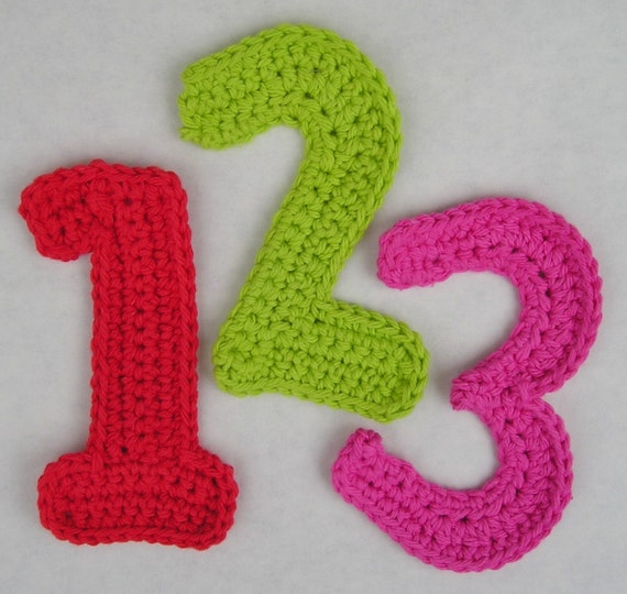 How To Crochet Numbers : Add it to your favorites to revisit it later.